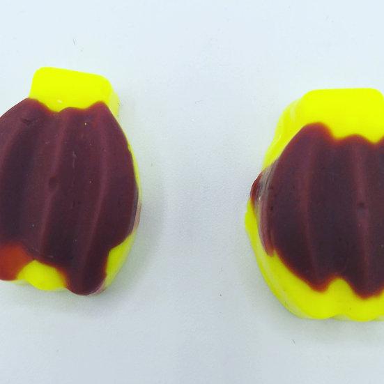 Banana Split Wax Shapes