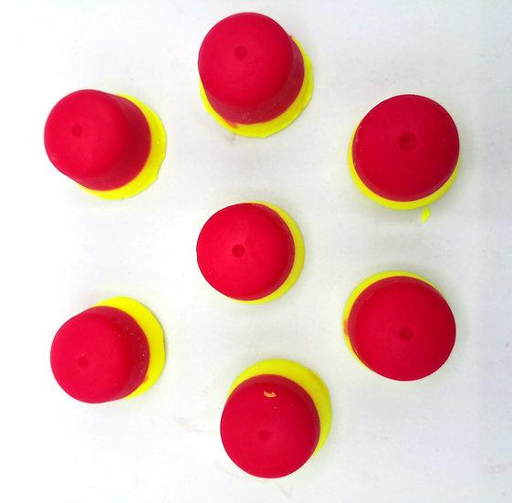 Pear Drops Wax shapes