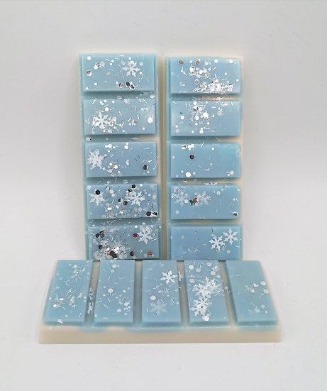 Vanilla Peppermint Snowflake Wax Bars