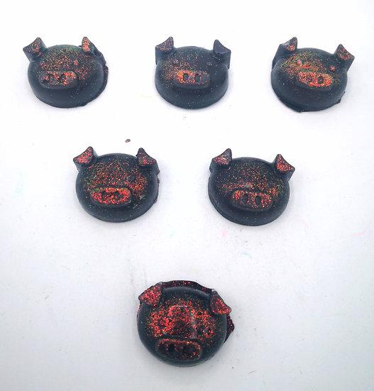 Sooty Sweet (Black Jacks)Wax shapes