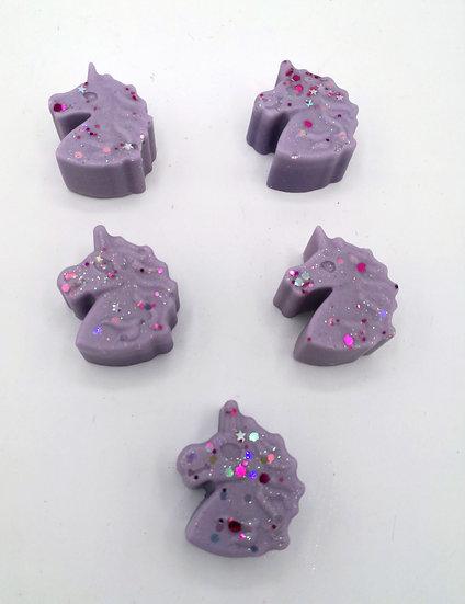 Unicorn Sparkle Wax Shapes