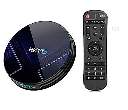 HK1 X3 Android Tv Box 4GB 32/64GB