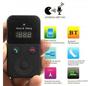 Bluetooth Adapter MP3 Player Wireless Car FM Transmitter