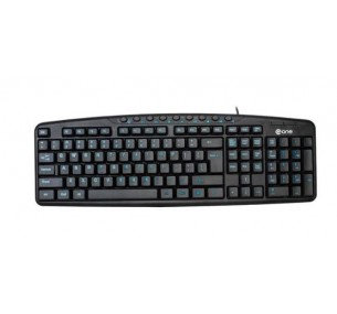 @One EK-612E Wired Multimedia Keyboard