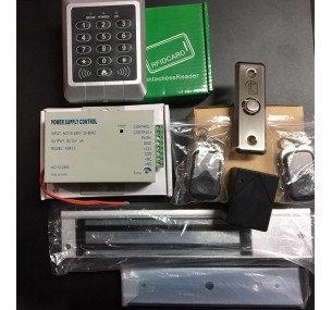 Wireless Mag Door Lock Control Kit #1