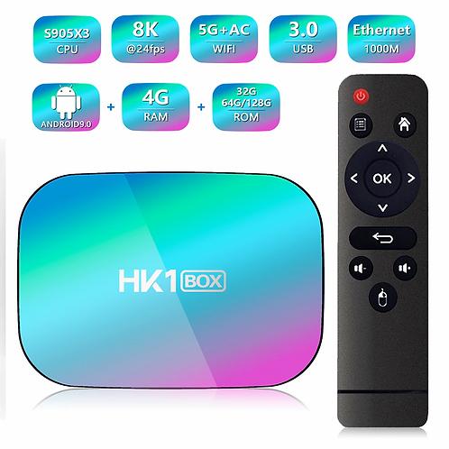 HK1 Android 9 Amlogic S905X3  8K TV Box