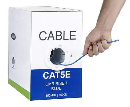 1000FT Cat5E Network Cable