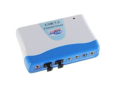 USB 7.1 External Sound Card