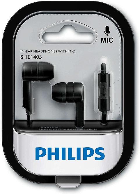 Philips SHE1405BK Earphones