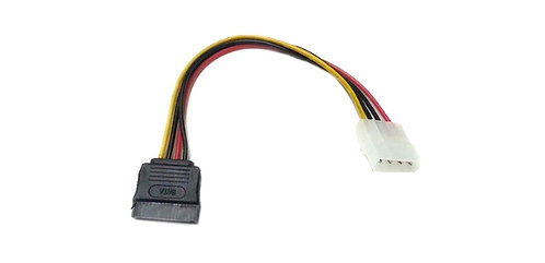 4 Pin Molex to Single SATA