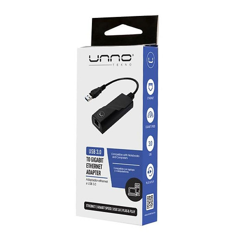 Unno USB 3.0 to Ethernet Adapter
