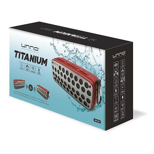 Titanium TWS Splash Proof Bluetooth Speaker