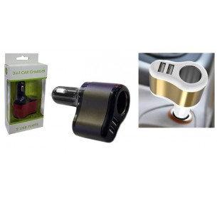 Single Socket Dual USB Car Charger 3.1A