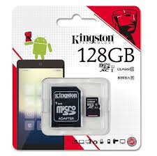 Kingston 128GB UHS-I microSDXC Class10