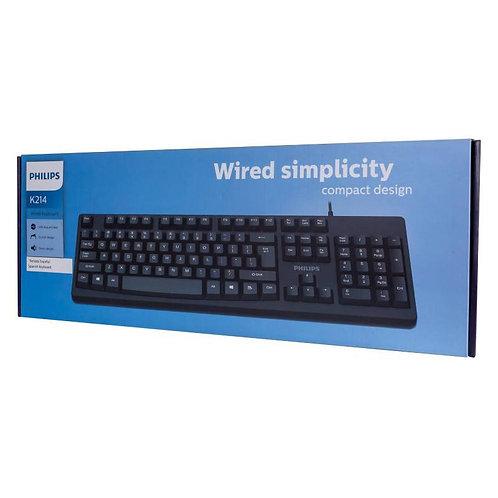 Phillips SPK214 Wired Keyboard