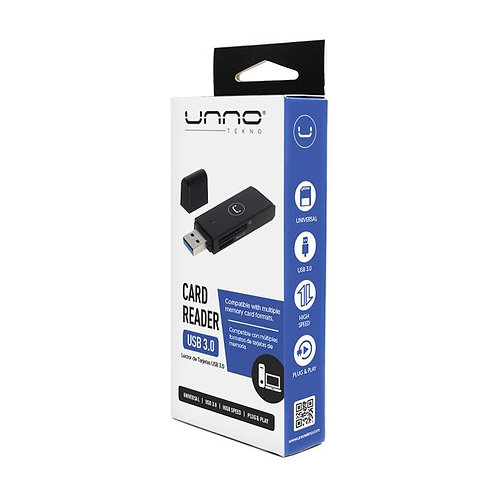 Unno External Card Reader Usb 3.0