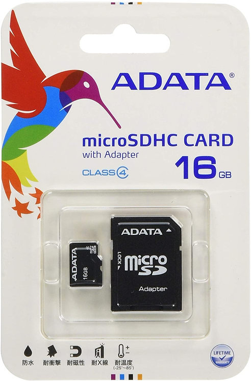 ADATA 16GB microSDHC Class 4