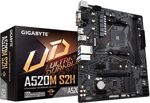 Gigabyte A520M S2H AM4 Motherboiard