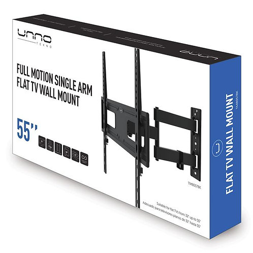 """Unno Full Motion TV Wall Mount Bracket for 32 to 55"""""""