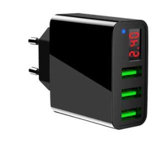 15W QC3.0 Triple USB Wall Adapter