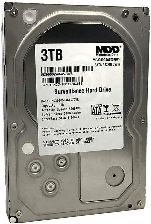 MaxDigitalData 3TB Surveillance HDD