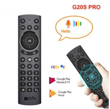 G20S Pro Air Mouse Backlight Voice Gyroscope IR Learning Remote