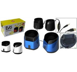 EVO Stereo USB Speakers
