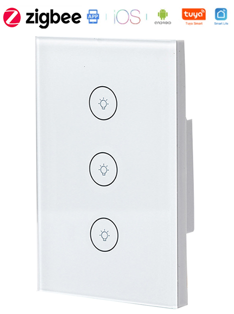 Zigbee Smart Touch Light Switch