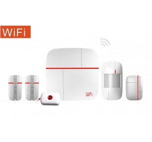 ICare Wifi GSM Security Alarm Starter Bundle