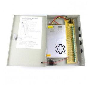 18CH Port Power Supply Box CCTV DC12V 20A
