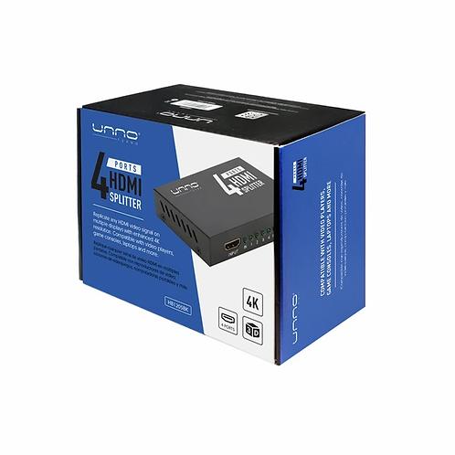 Unno  4K HDMI 1-4 Splitter