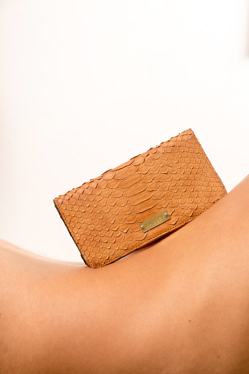 Tan - Black Large Card Holder