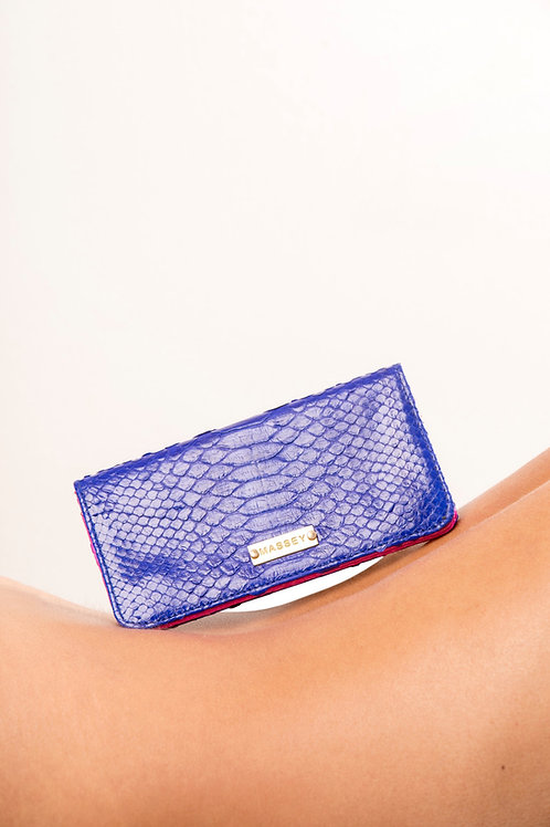 Cobalt - Fuchsia Large Card Holder