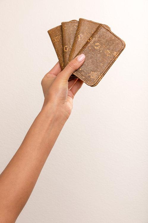Speckled Brown - Black Oyster Card
