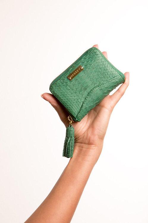 Green Multi Card Holder