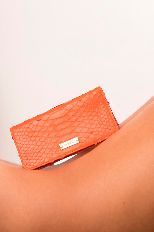 Orange - Red Large Card Holder