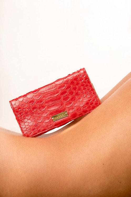 Red - Orange Large Card Holder