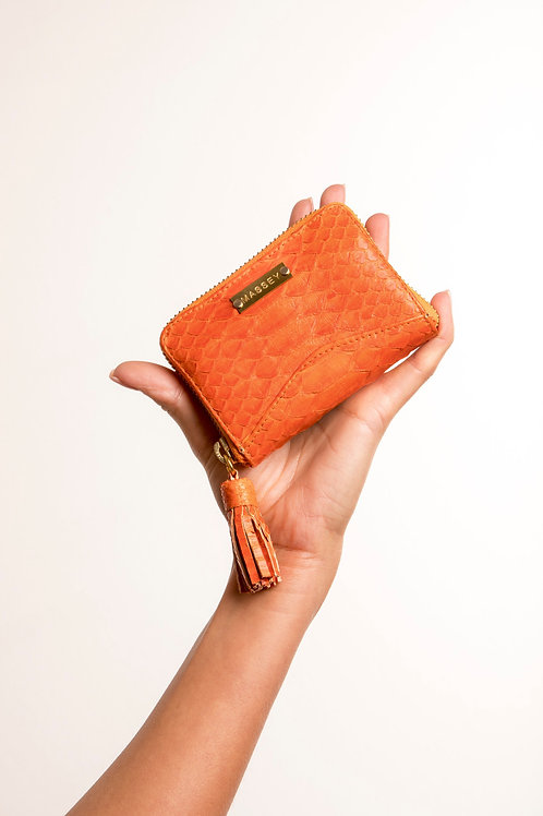 Tangerine Multi Card Holder