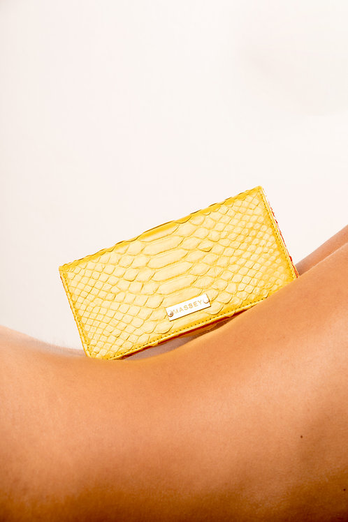 Yellow - Orange Large Card Holder