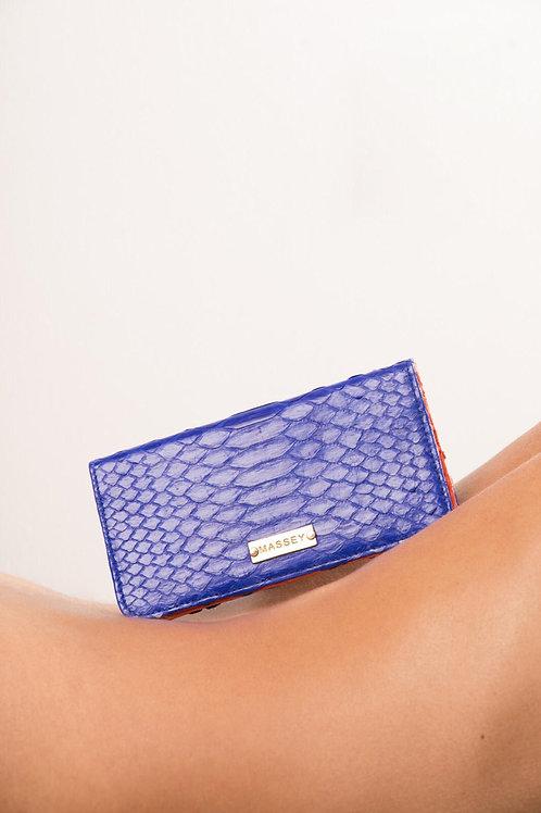 Cobalt - Orange Large Card Holder