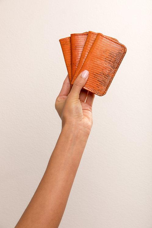 Dark Orange - Cobalt Oyster Card