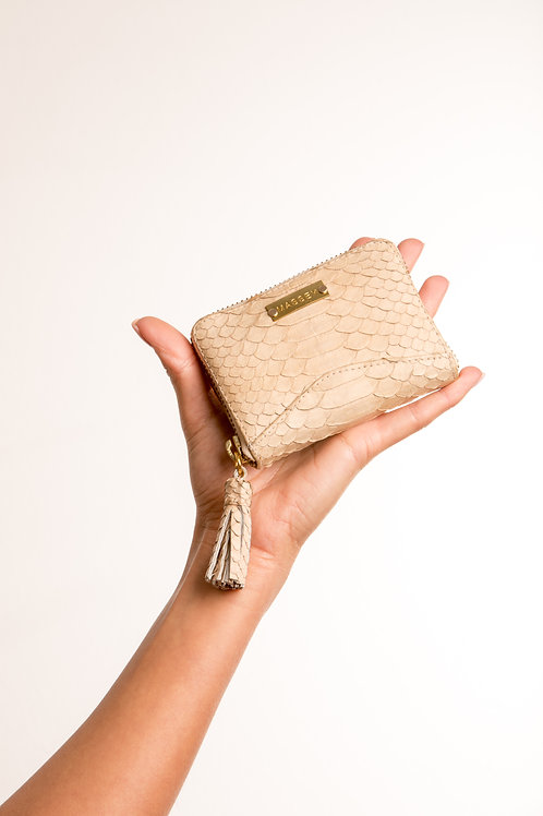 Beige Multi Card Holder