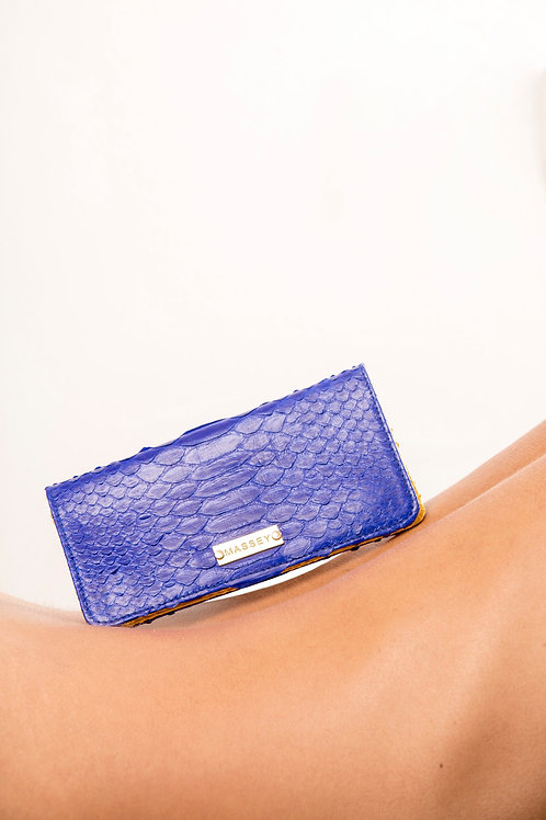 Cobalt - Yellow Large Card Holder