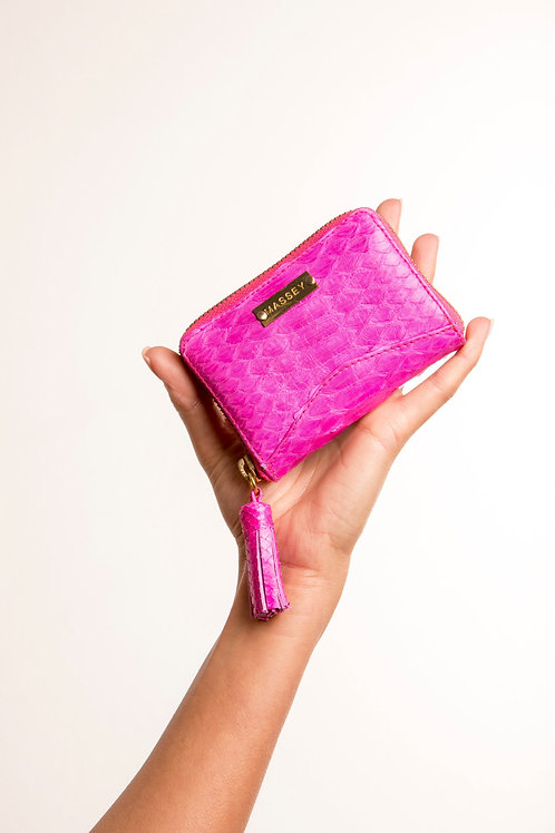 Fuchsia Multi Card Holder