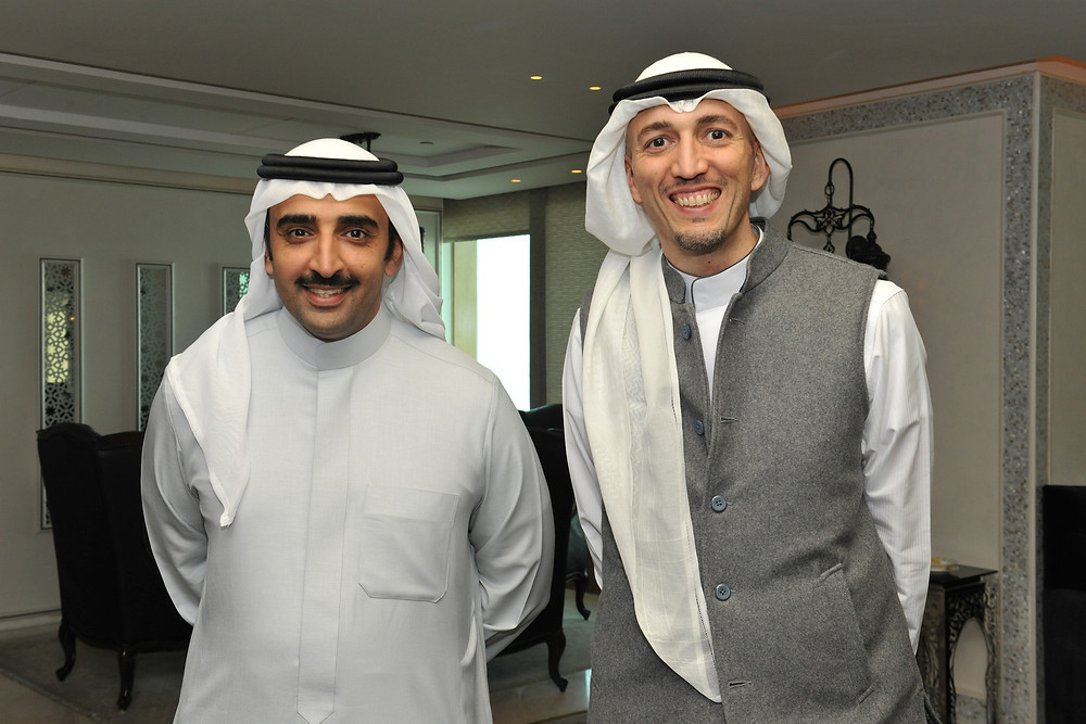 His Excellency with Mr. Suhail Algosaibi