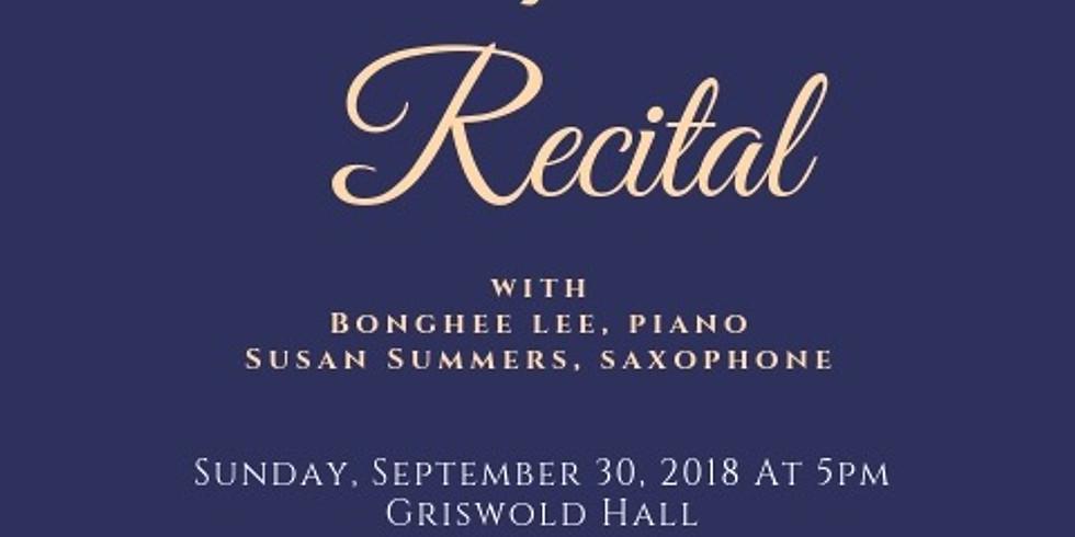 DMA Recital at the Peabody Institute