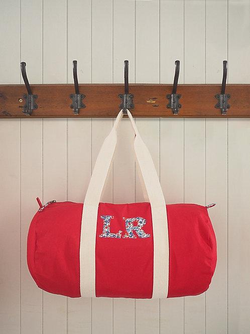 Organic Cotton Barrel Bag
