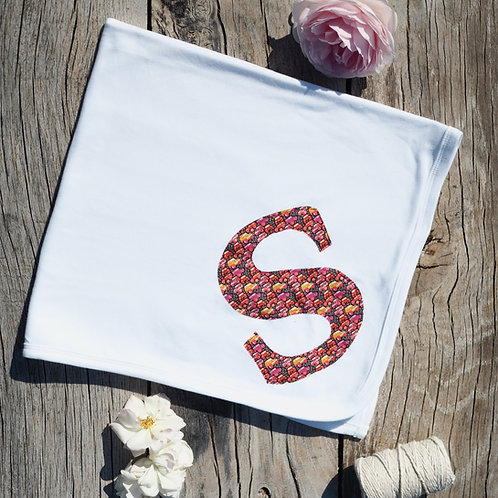 Initial Baby Blanket