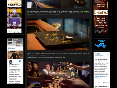 In The Media: Nightlife IB HQ - Great New Places.com