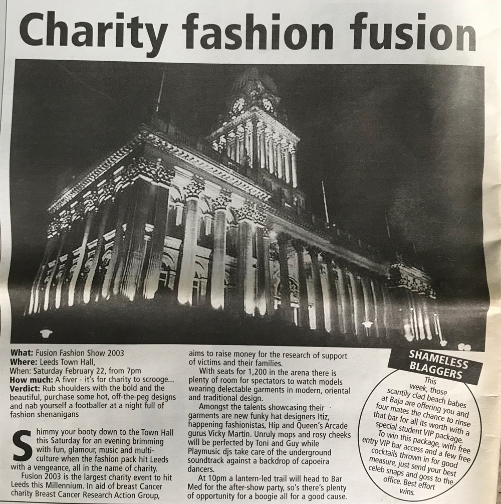 Fusion 2003 - Charity Event